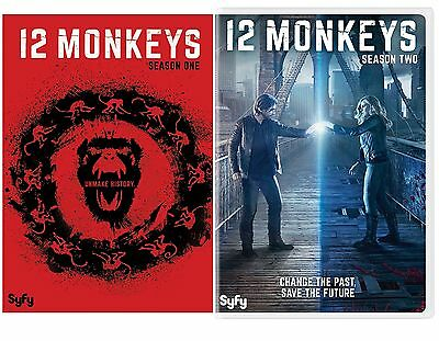 12 Monkeys The Complete Series Season 1-2 DVD NEW