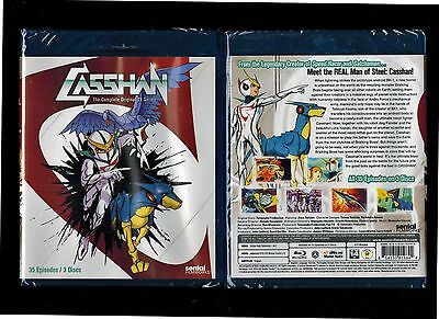 Casshan Complete Original TV Series Brand New 3-Disc Blu-ray Set