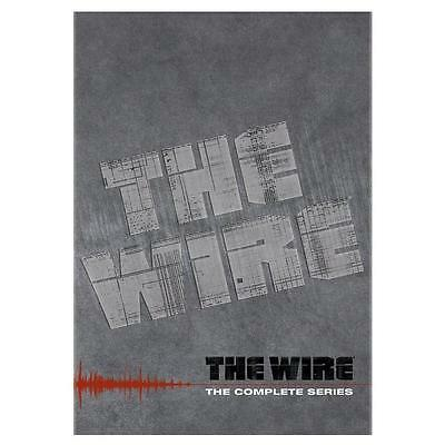 The Wire - 2011 The Complete Series 23-Disc DVD New sealed-