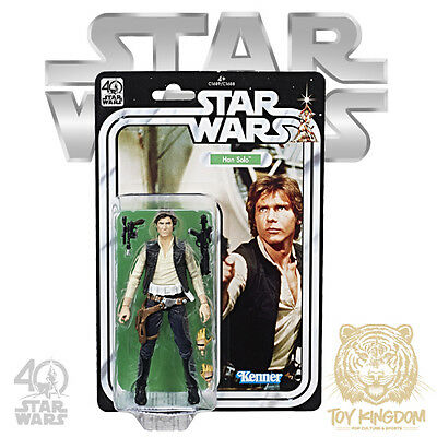 HAN SOLO - Star Wars 40th Anniversary Black Series 6 Action Figure SEALED