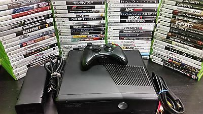 Microsoft Xbox 360 4gb 250gb 320gb system console with games