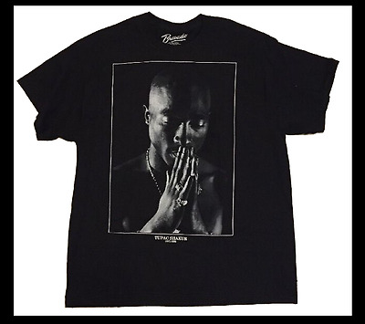 New Mens Tupac T shirt Praying Hip Hop Rap Biggie Smalls XL 2XL 3XL 2Pac