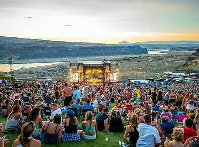 1 Watershed Festival Wristband Ticket 3 Day Pass July 2017 Gorge Amphitheatre