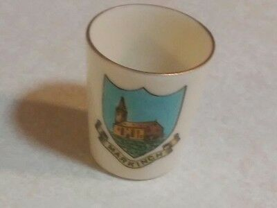 Small Cup with Gold Trim Markinch Fife Scotland