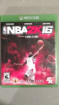 xbox one nba 2k16 video game