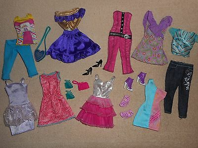 Nice Lot of Barbie Doll Clothes and Accessories