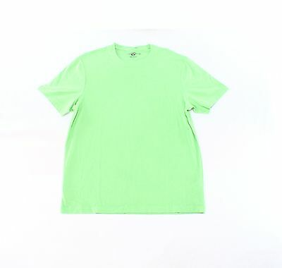 Club Room NEW Green Mens Size L Paxton Short Sleeve Crew Neck T-Shirt 051