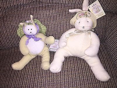 Bunnies By The Bay Lot Of 2 Baylee and Flutterbug New NWT