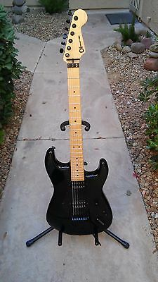 Charvel So- Cal- Electric Guitar wSeymour Duncans Floyd Rose Hard Case