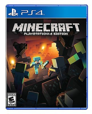 Minecraft PlayStation 4 Edition Sony PlayStation 4 PS4 NEW
