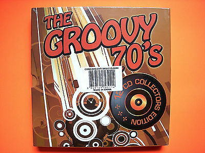 ⭐️ NEW Sealed THE GROOVY 70s 12 CD Collectors Edition Box Set Hits Various ⭐️