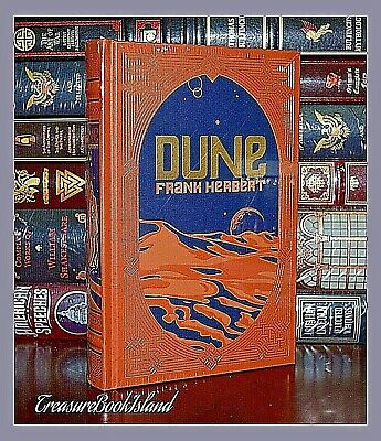 New Dune by Frank Herbert Collectible Leather Bound Deluxe Hardcover