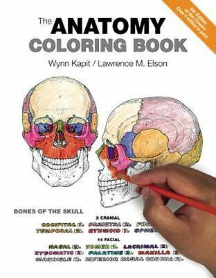 The Anatomy Coloring Book by Wynn Kapit Paperback Book English