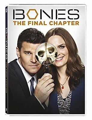 Bones Season 12 DVD 2017 3-Disc Set New - Sealed FREE Shipping