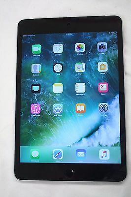 ■ Apple iPad Mini 4 16GB WiFi and Cellular Verizon Space Gray MK7W2LLA ■