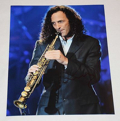 KENNY G SIGNED AUTOGRAPHED 8x10 PHOTO COA proof A