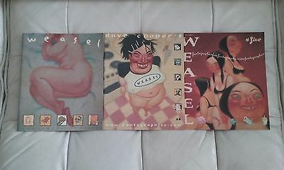 Lot of WEASEL by Dave Cooper Issues 14 and 5