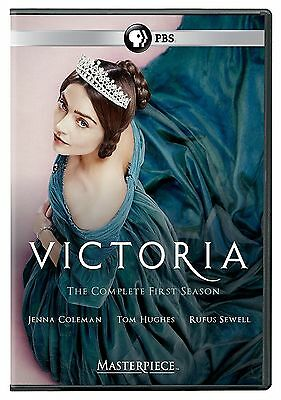 Masterpiece Victoria The Complete First Season 1 DVD 2017 3-Disc Set NEW