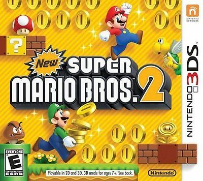 New Super Mario Bros- 2 Nintendo 3DS 2012 - COMPLETE