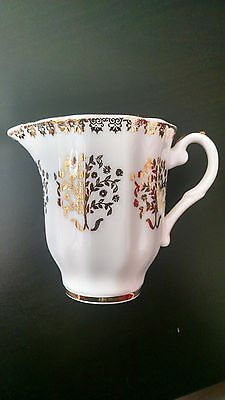 Royal Grafton mini creamer24k gold design