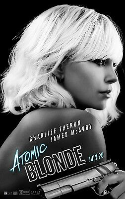 Atomic Blonde - Final - Original movie theater poster 27x40 DS