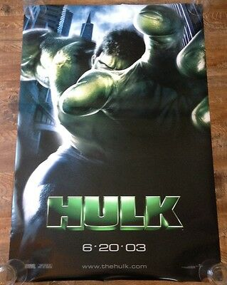 HULK 2003 - Original movie theater poster 27x40 DS