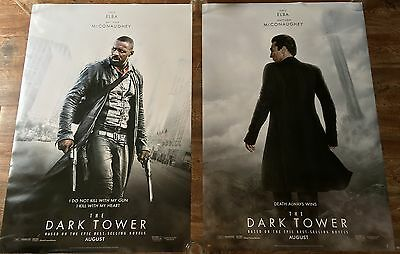 THE DARK TOWER - Set of 2 Characters - Original movie theater poster 27x40 DS