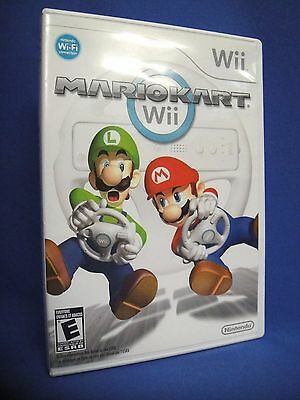 Mario Kart Wii Game with Case - Manual