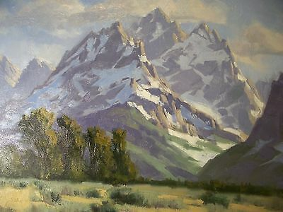 2014 Tom Haas b- 1952 Original Signed Oil Painting on board 16x 20