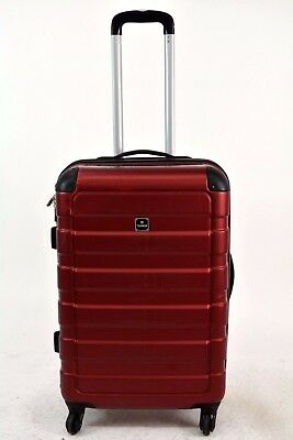 240 TAG Matrix 24 Red Hard case Spinner Travel Suitcase Luggage