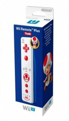 Nintendo Wii U Remote Plus Toad Official Controller