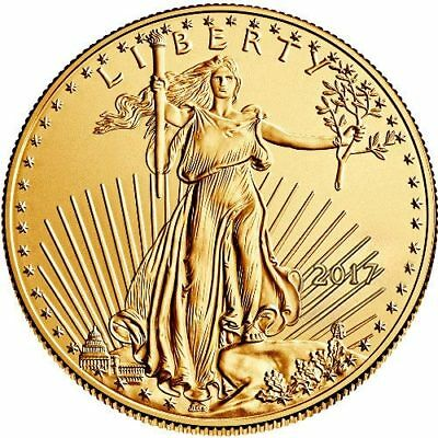 2017 1 oz American Gold Eagle Coin BU