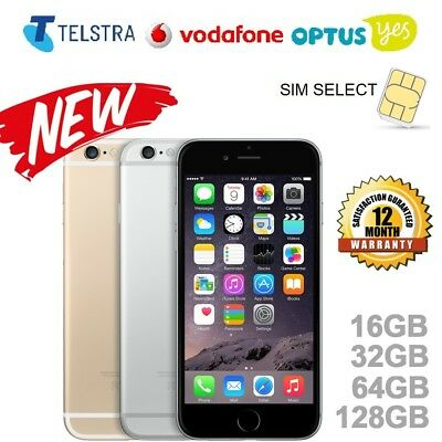 NEW Apple iPhone 5s iPhone 6 iPhone 6s in 16GB 32GB 64GB 128GB UNLOCKED WTY
