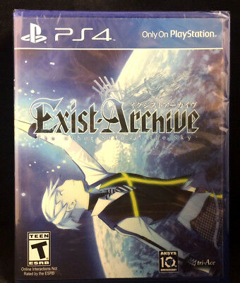 Exist Archive The Other Side of the Sky Sony PlayStation 4 2016