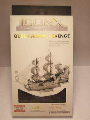 Fascinations Metal Earth IconX Metal Model Kit - Queen Annes Revenge ICX009