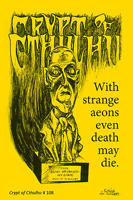New Crypt of Cthulhu 108 edited by Bob Price - published by Necronomicon Press