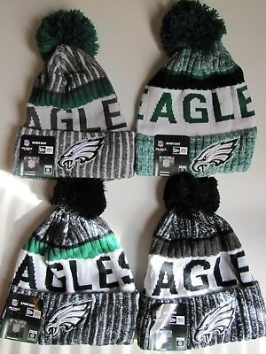 NFL Philadelphia Eagles Knit Winter Beanie Hat-4 Styles