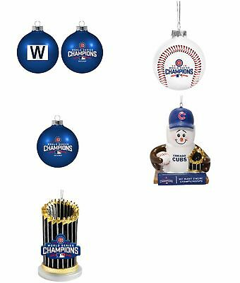 Chicago Cubs MLB 2016 World Series Champions Ornaments-5 STYLES TO CHOOSE