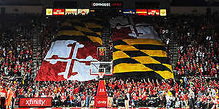 Maryland Terrapins Basketball vs Penn State - January 2