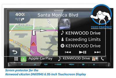 Anti-glare Screen Protectors For Kenwood eXcelon DNX994S 2pcs - Tuff Protect