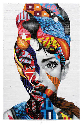 Tristan Eaton Audrey of Mulberry Psychic Musashi New York Art Basel choe