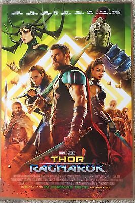 THOR RAGNAROK MOVIE POSTER 2 Sided ORIGINAL INTL Ver B 27x40 CHRIS HEMSWORTH