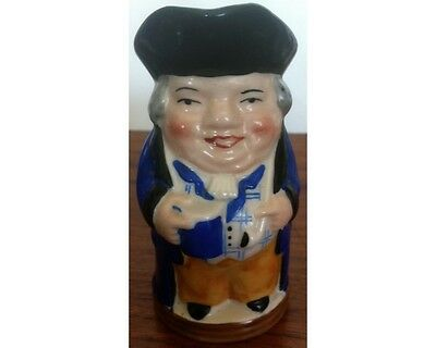 WH Goss Hand Painted Full Colour Miniature 4 Toby Jug Heardy Good Fellow