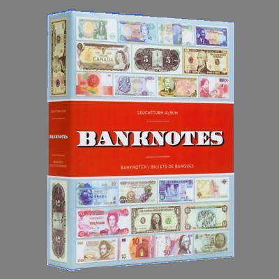 Lighthouse Currency Album for 300 Banknotes 100 Pages