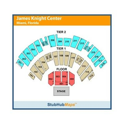 Van Morrison Tickets- Miami  2 Tickets Wednesday 272018- Section 109- Row N
