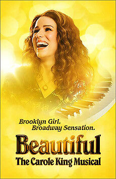 2 Tickets to Beautiful The Broadway Musical