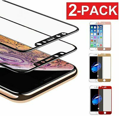 3D Full Coverage Tempered Glass Screen Protector for Apple iPhone X87 Plus