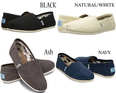 Toms Womens Classic Canvas Slip-on Casual Shoes- Pick your Size - Color