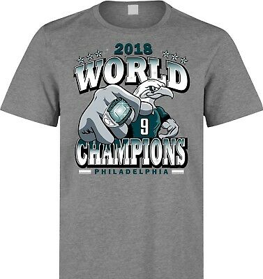 Philadelphia Eagles Super Bowl World Champions T Shirt Size S M L XL 2XL