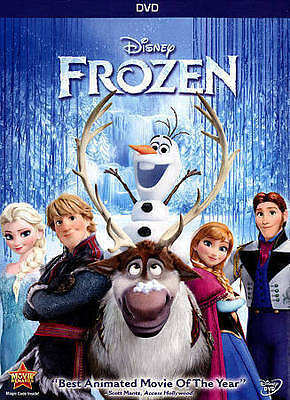 Frozen DVD Brand New - Sealed w Slipcover Free Same Day Shipping Buy Now